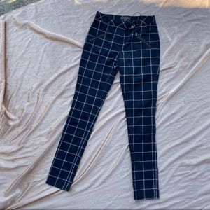 Plaid Skinny Trousers from Atmosphere